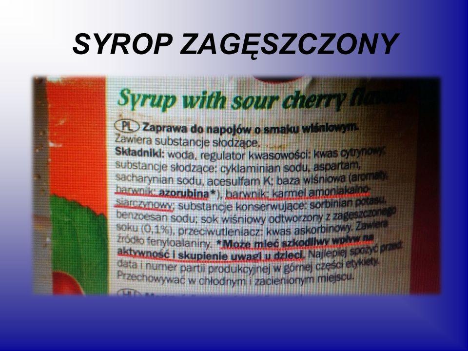 SYROP ZAGĘSZCZONY