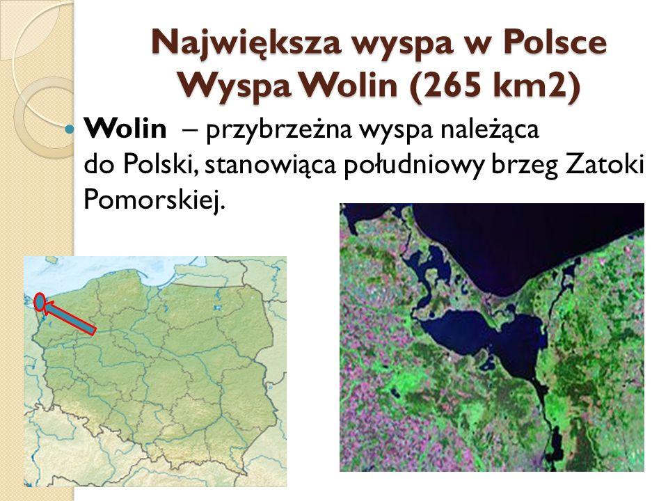 Najdłuższy półwysep w Polsce Mierzeja Helska (43 km) Mierzeja Helska (popularna nazwa Półwysep Helski ) – piaszczysty wał w kształcie kosy, będący ciągiem zalesionych wydm utworzonych przez wiatr i prąd morski płynący na wschód wzdłuż polskiego brzegu.