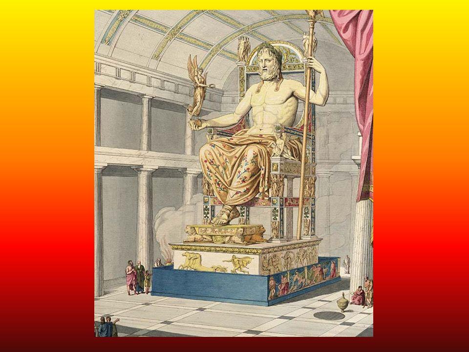 POSĄG ZEUSA Czas powstania: Zbudowany ok.456 roku p.n.e.