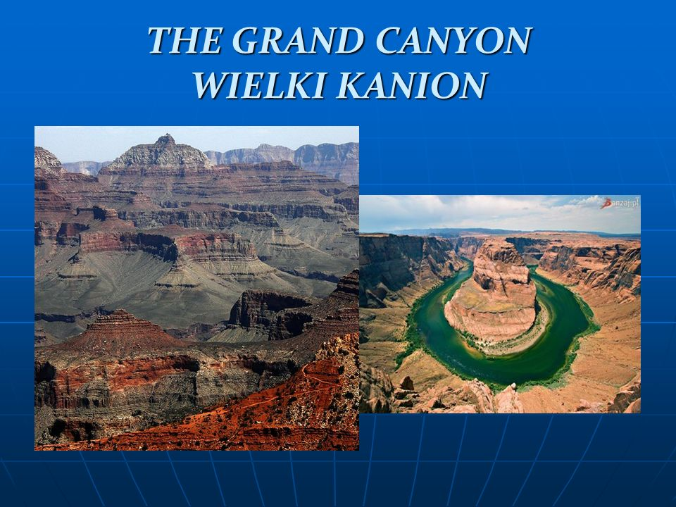THE GRAND CANYON WIELKI KANION