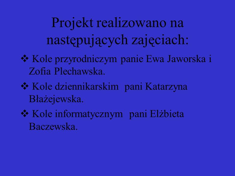 Uczniowie szkolnego koła dziennikarskiego pod opieką Pani Katarzyny Błażejewskiej opracowali specjalne wydanie gazetki Nicpoń o tematyce zdrowia i właściwego odżywiania się.