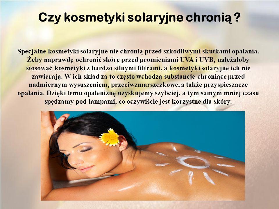 Solarium nie pomaga zwalczyć trądziku.