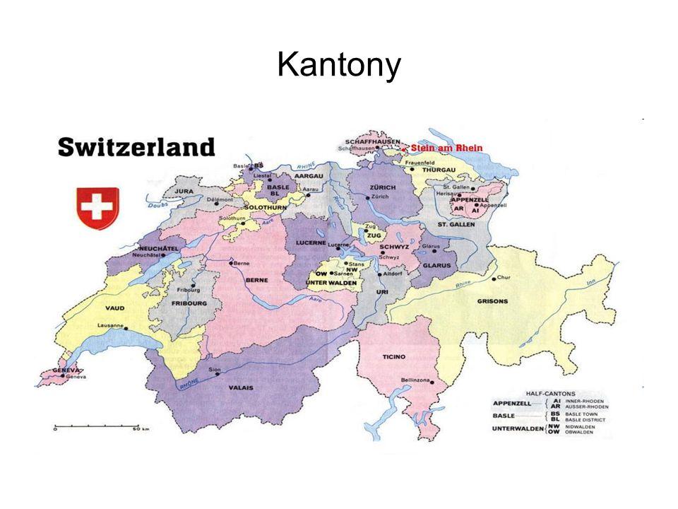 Ludność i języki urzędowe Liczba mieszkańców - 7 725 200 (5 x mniej niż w Polsce ) W Szwajcarii są cztery języki urzędowe: niemiecki, francuski, włoski i retoromański.