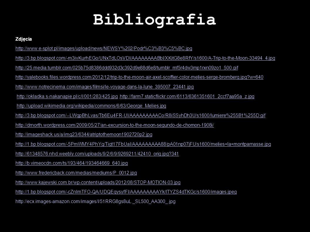 Bibliografia Zdjęcia http://www.e-splot.pl/images/upload/news/NEWSY%202/Podr%C3%B3%C5%BC.jpg http://3.bp.blogspot.com/-m3ivKurhEGo/UNxTdLOsVDI/AAAAAAA