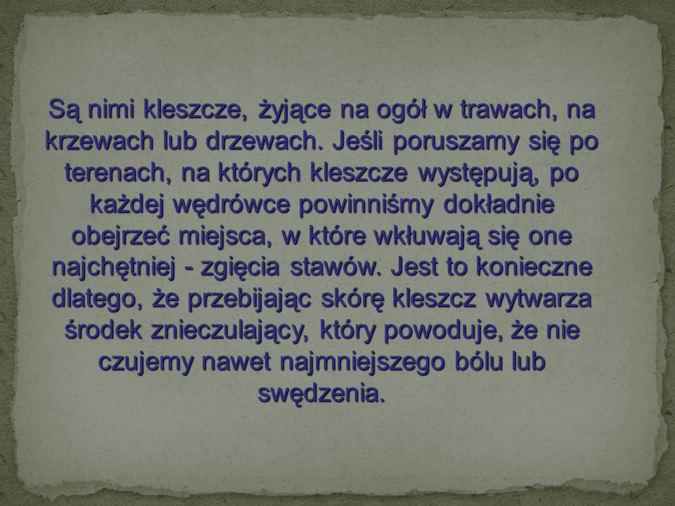 KLESZCZ SAMICA SAMIEC