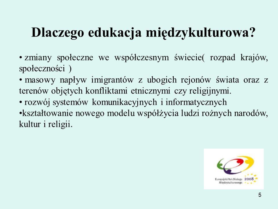 6 Czy polskiej szkole potrzebna jest edukacja międzykulturowa.