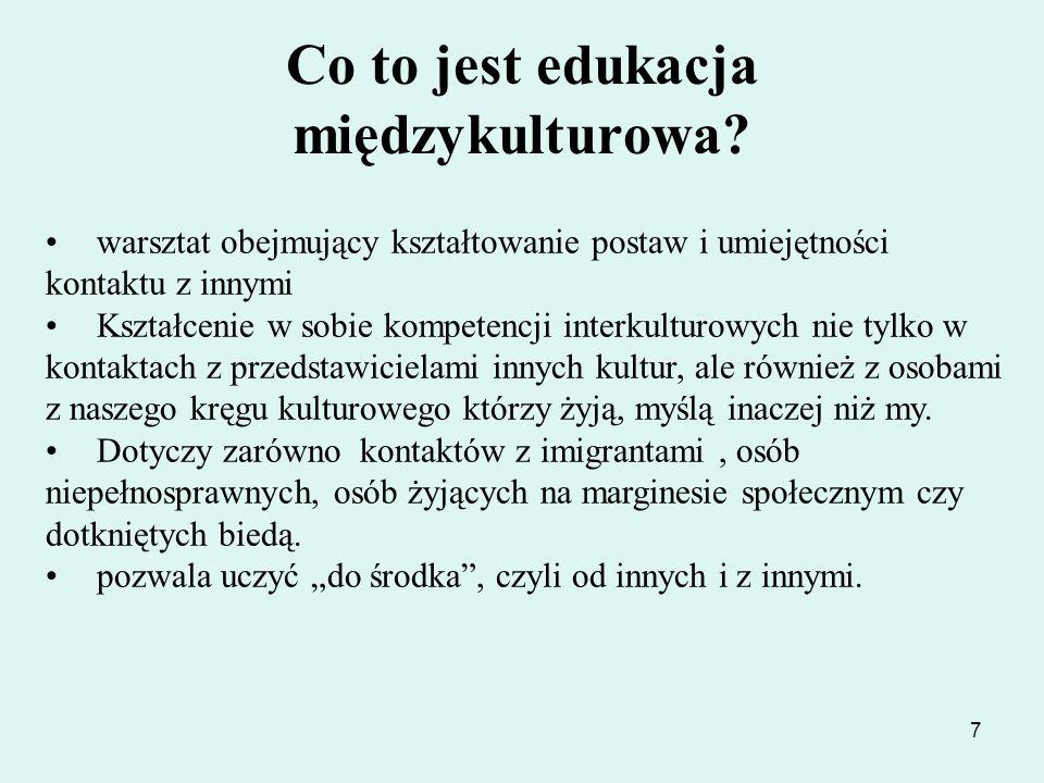28 Opracowano na podstawie: Prezentacji Jana Bartczaka ODN Kalisz http:// frse.org.pl http:// miedzykulturowa.org.pl http:// dialog 2008.