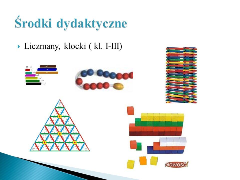 Liczmany, klocki ( kl. I-III)