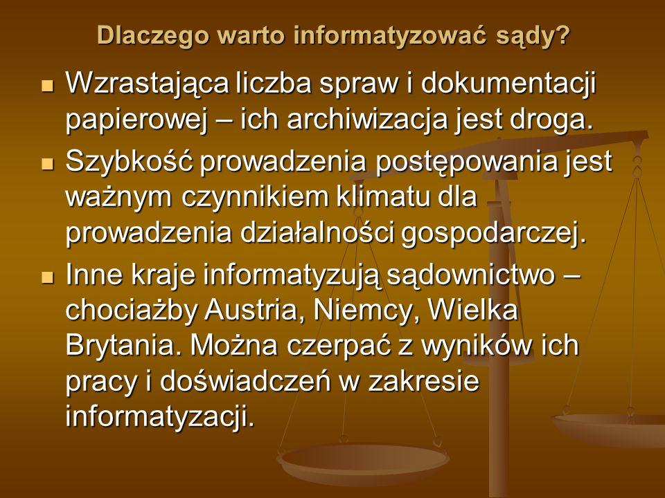 Innowacyjne rozwiązanie de lege lata (I) Zarządzenie Prezesa Sądu Rejonowego dla Wrocławia-Fabrycznej nr 21/05 z dnia 21 października 2005 r.: Zarządzenie Prezesa Sądu Rejonowego dla Wrocławia-Fabrycznej nr 21/05 z dnia 21 października 2005 r.: W związku z art.