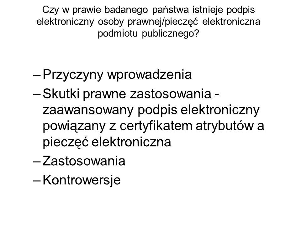 Jakie są warunki weryfikacji podpisu elektronicznego.