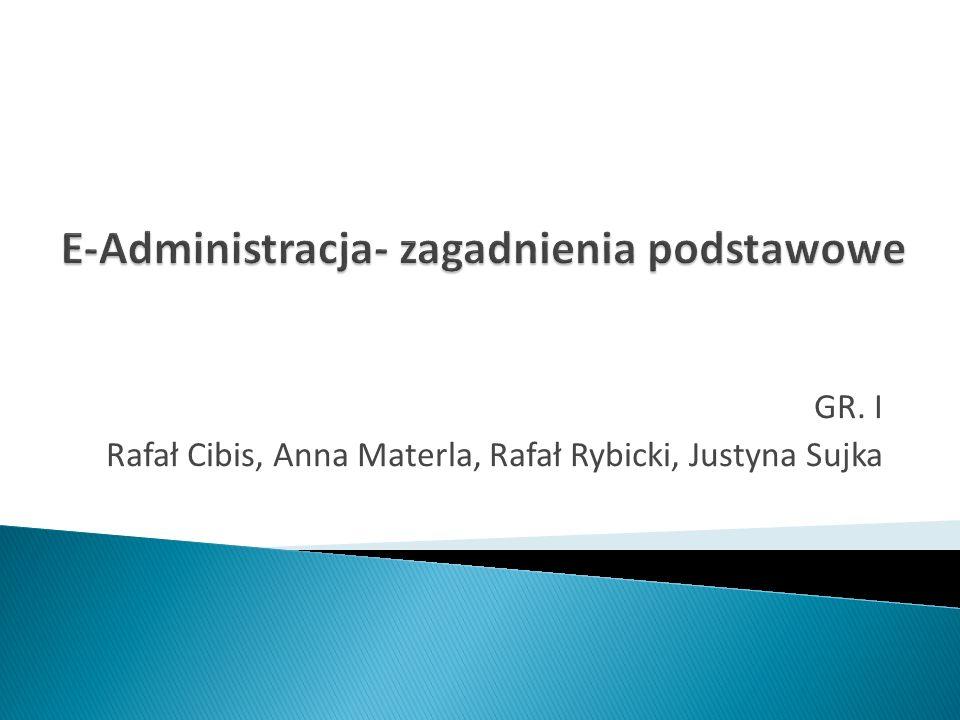 GR. I Rafał Cibis, Anna Materla, Rafał Rybicki, Justyna Sujka