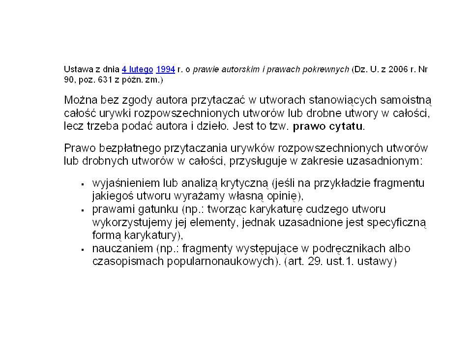 Karta zaliczenia projektu Temat projektu ………………………………………………..