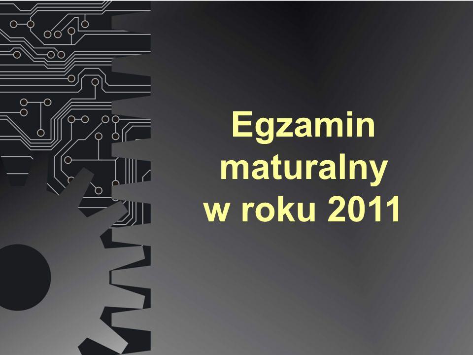 Egzamin maturalny w roku 2011