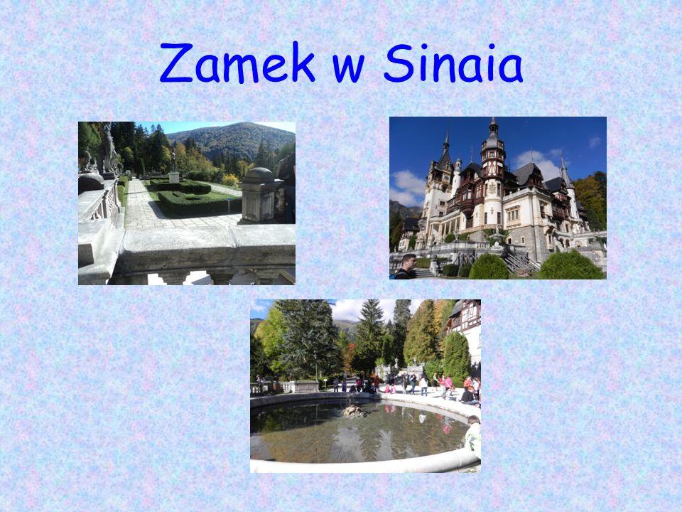 Zamek w Sinaia