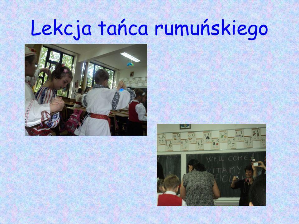 Lekcja tańca rumuńskiego