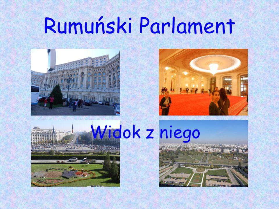 Rumuński Parlament Widok z niego