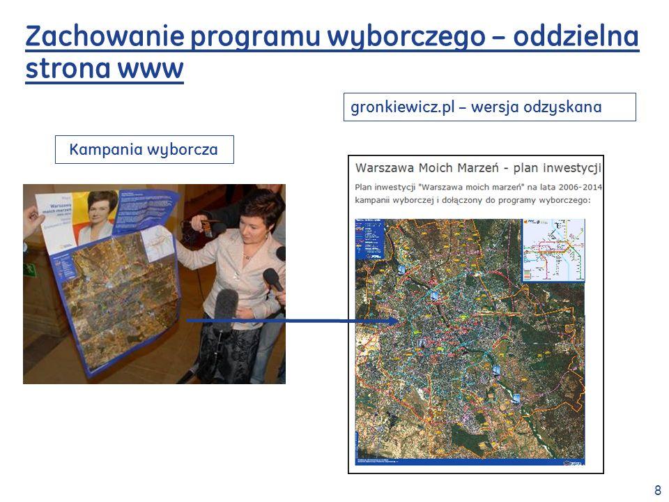 9 Źródła informacji – Rada Warszawy Transmisje obrad Rady Warszawy:
