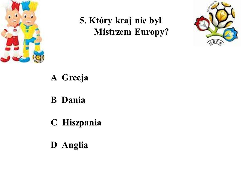 6.Jakie kraje reprezentują następujący zawodnicy.