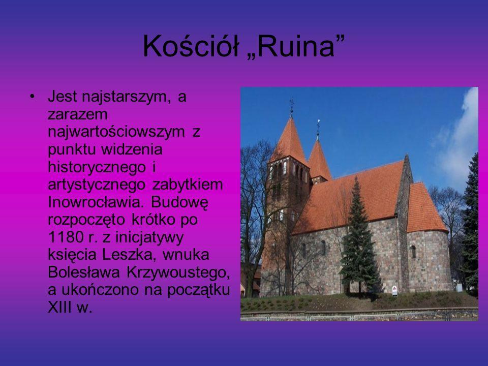 Kopalnia Soli Historia Inowrocławia od najdawniejszych czasów związana jest trwale z dziejami górnictwa solnego. Średniowieczne saliny stały się zaląż