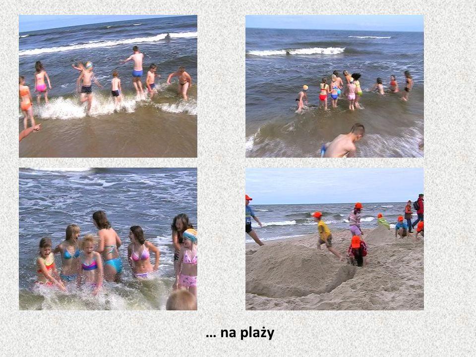 … na plaży