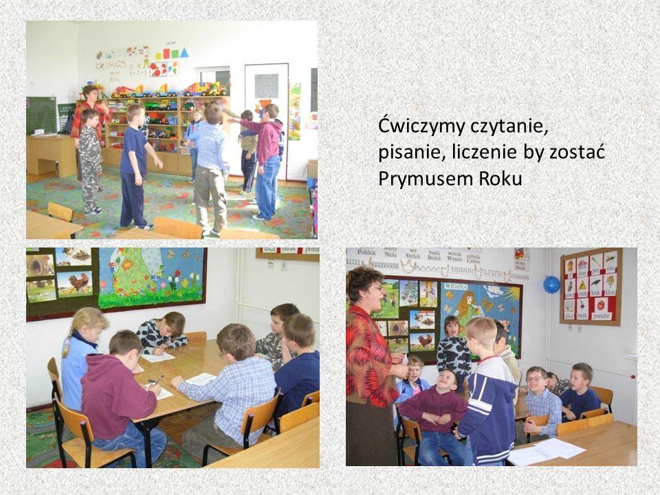 Ćwiczymy czytanie, pisanie, liczenie by zostać Prymusem Roku