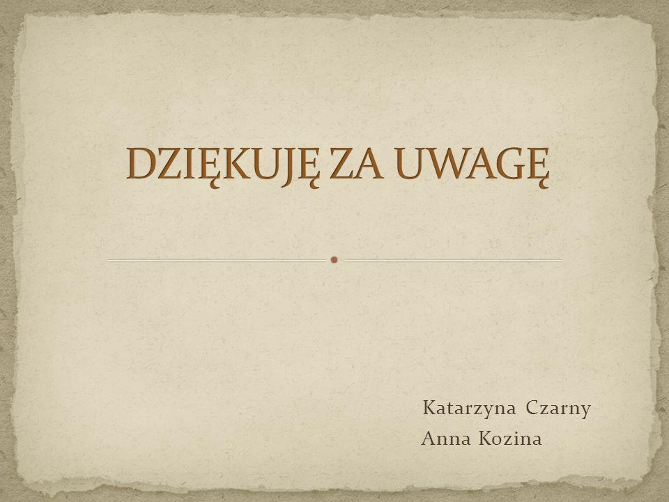 Katarzyna Czarny Anna Kozina