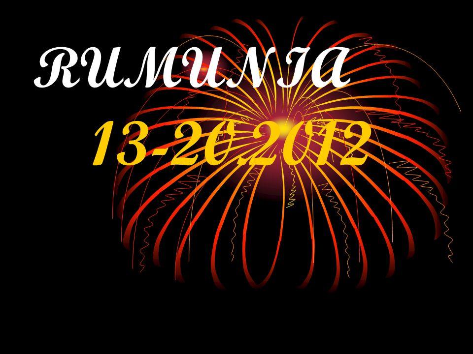 z nocy 13-14 październik wyjechalismy do Rumunii w ramach projektu Comenius.