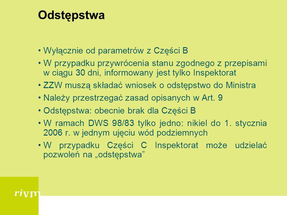 Informacje dla konsumentów Poziom lokalny: ZZW odpowiedzialne za przekazanie informacji w ciągu 4 tygodni Poziom lokalny: ZZW informują grupy konsumen
