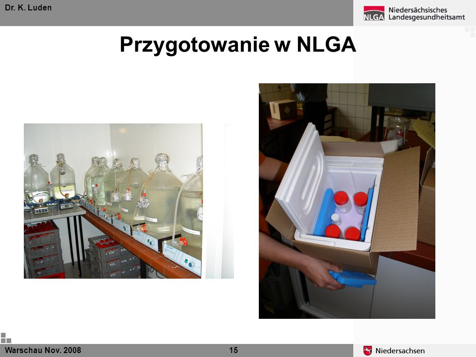 Dr. K. Luden Przygotowanie w NLGA Warschau Nov. 200815
