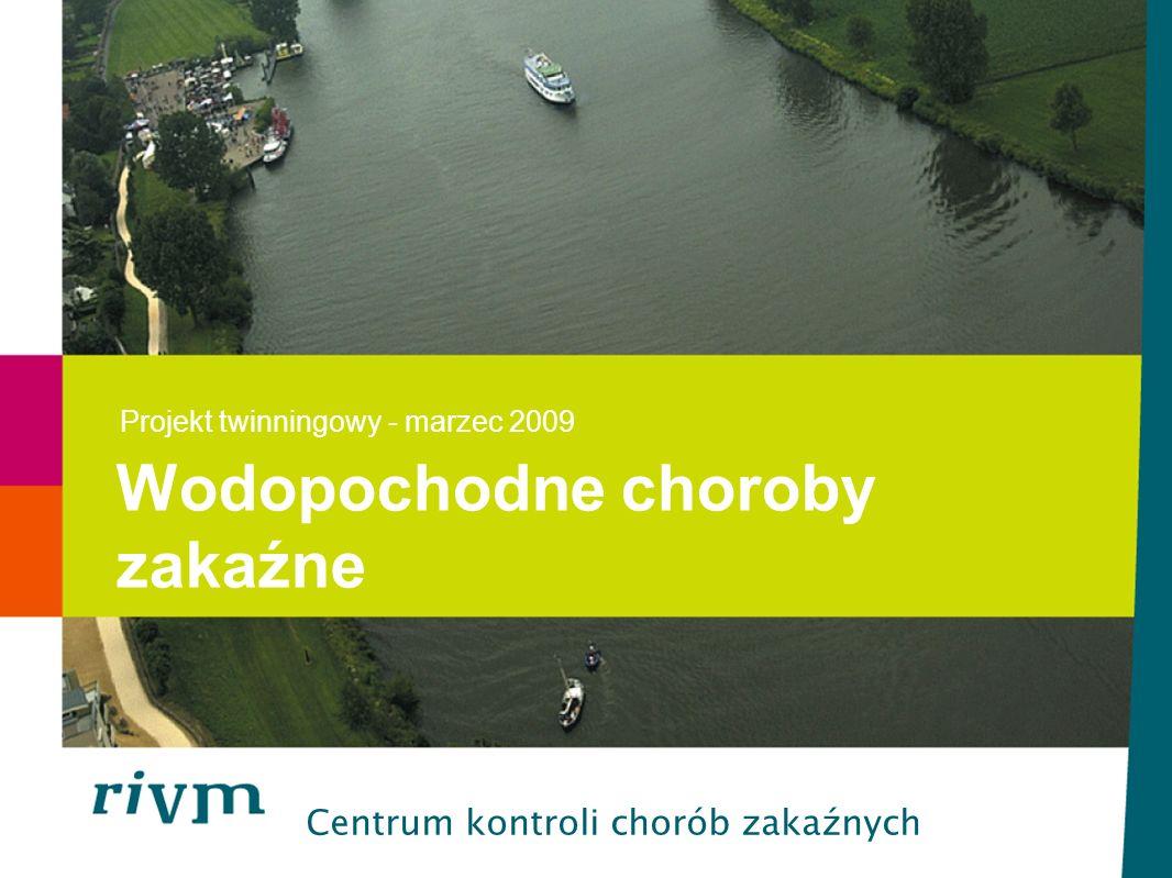 ana.maria.de.roda.husman@rivm.nl I TW mar 2009 Różne zastosowania akwenów wodnych -Woda do celów rekreacyjnych -Woda do spożycia -Transport -Rolnictwo -Źródło pożywienia Źródła skażenia kałowego -Rozlewy ścieków -Odprowadzanie oczyszczonych ścieków -Bezpośrednie skażenie kałowe -Wypłukanie gnojowicy z gruntu -Odprowadzanie wody z polderów Wody powierzchniowe i gruntowe