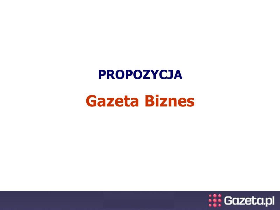PROPOZYCJA Gazeta Biznes