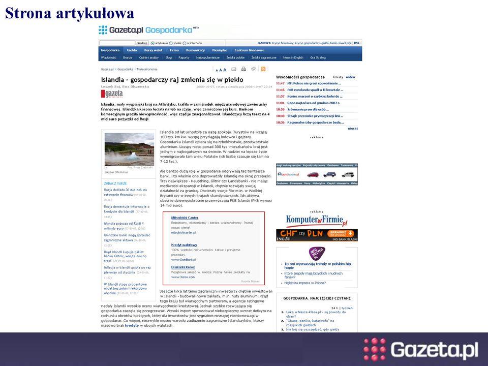Strona artykułowa