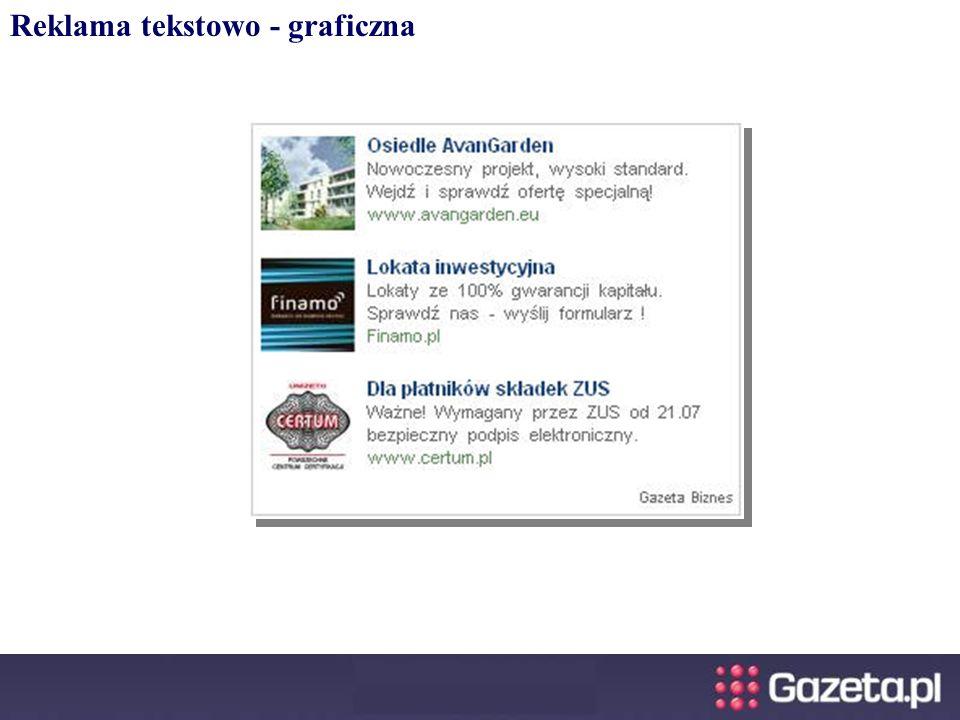 Reklama tekstowo - graficzna