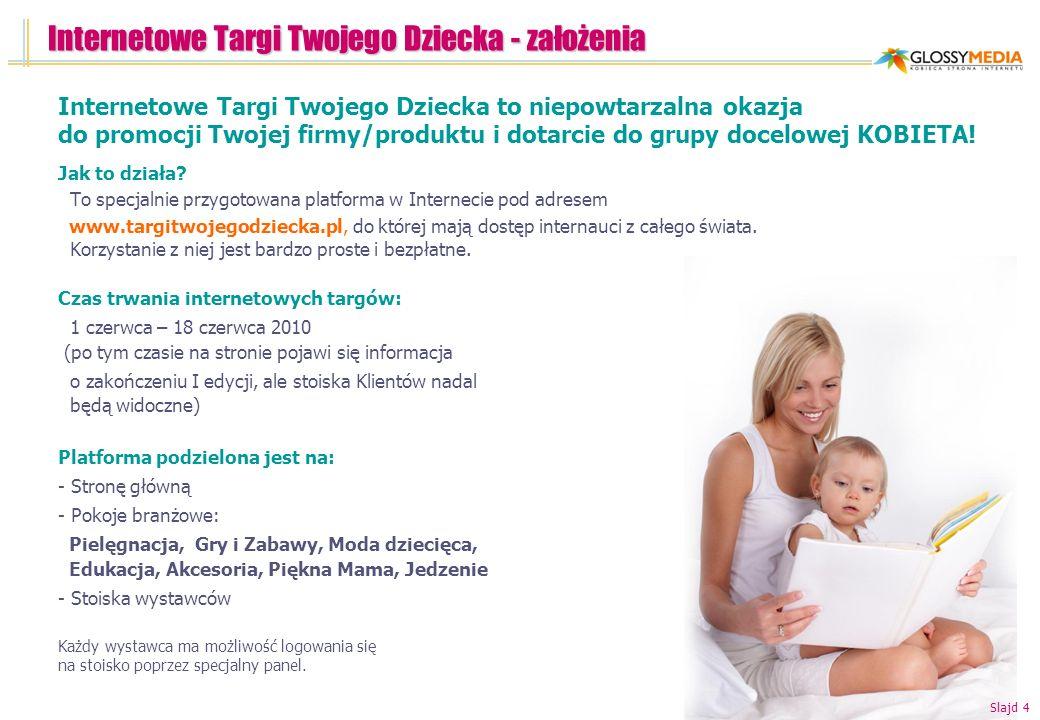 Internetowe Targi Twojego Dziecka - założenia Jak to działa? To specjalnie przygotowana platforma w Internecie pod adresem www.targitwojegodziecka.pl,