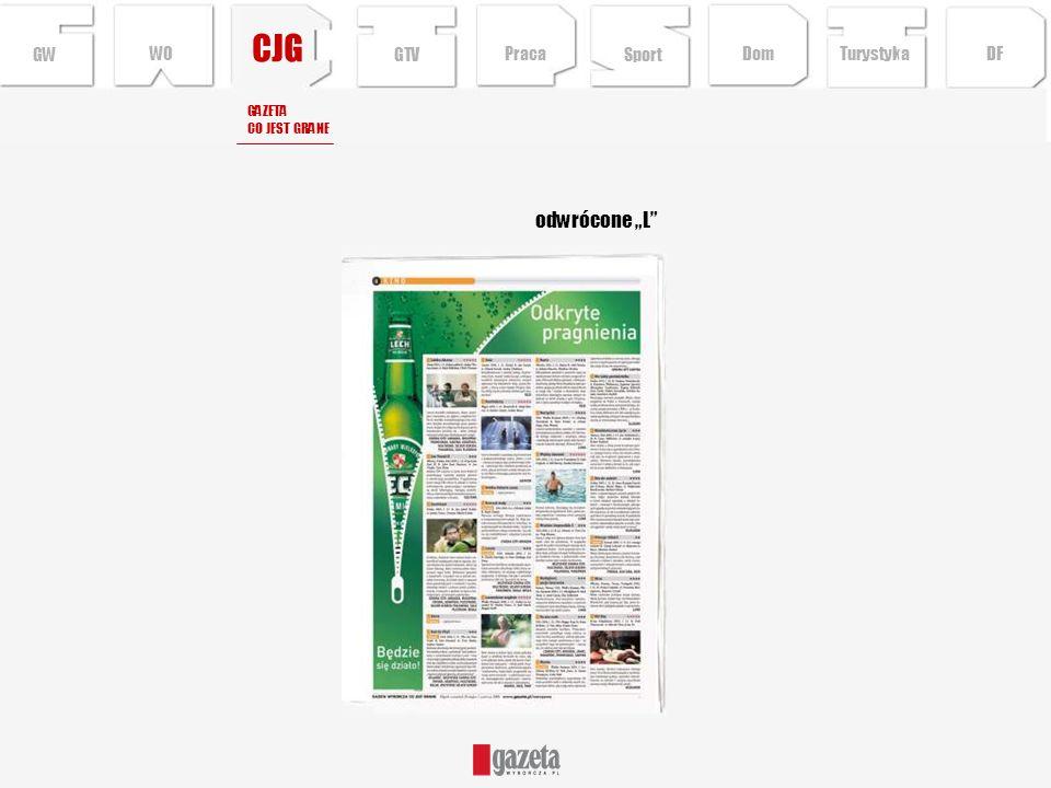 CJG GW odwrócone L GAZETA CO JEST GRANE Sport TurystykaPraca DFDom GTV WO