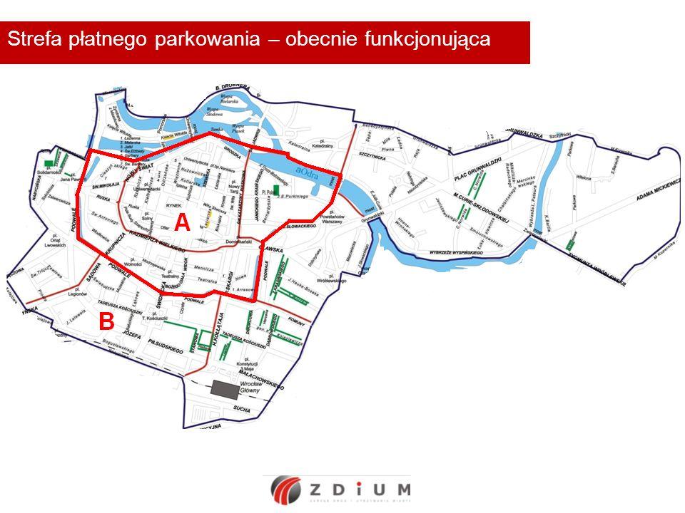 Strefa płatnego parkowania - propozycja