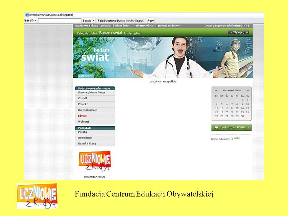Fundacja Centrum Edukacji Obywatelskiej