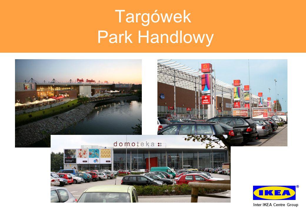 Targówek Park Handlowy wizualizacja planowanej budowy Inter IKEA Centre Group