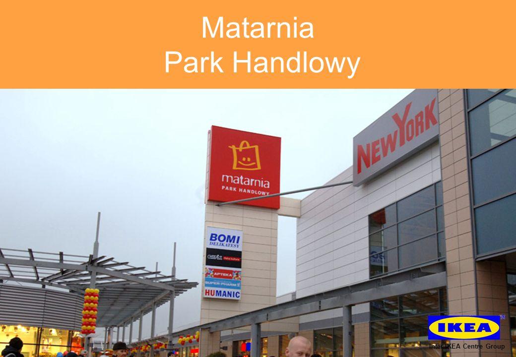 Matarnia Park Handlowy obecnie rozbudowywany Inter IKEA Centre Group