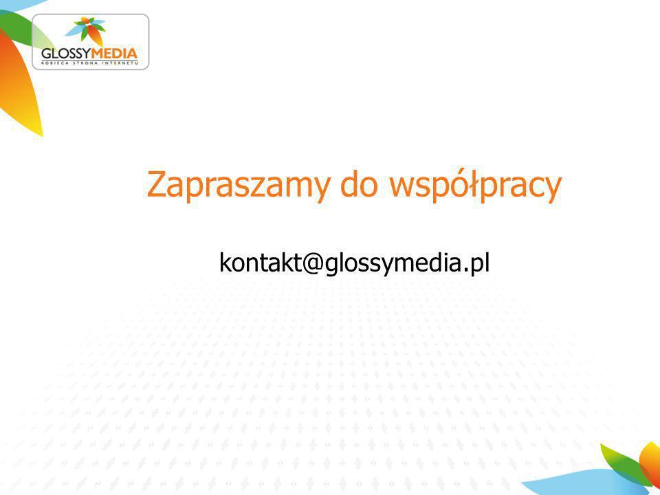 Zapraszamy do współpracy kontakt@glossymedia.pl