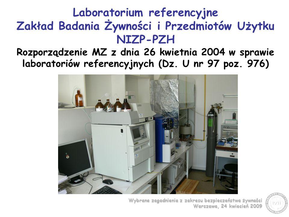 Wybrane zagadnienia z zakresu bezpieczeństwa żywności Warszawa, 24 kwiecień 2009 Wydawnictwa Metodyczne PZH Oznaczanie ochratoksyny A w przyprawach metodą wysokosprawnej chromatografii cieczowej z oczyszczaniem za pomocą kolumn powinowactwa immunologicznego.