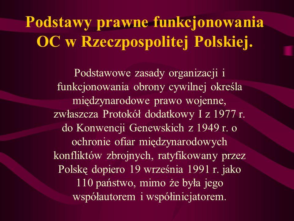 Obrona cywilna w Polsce stanowi system o sprecyzowanych zadaniach, strukturach i formach działania.