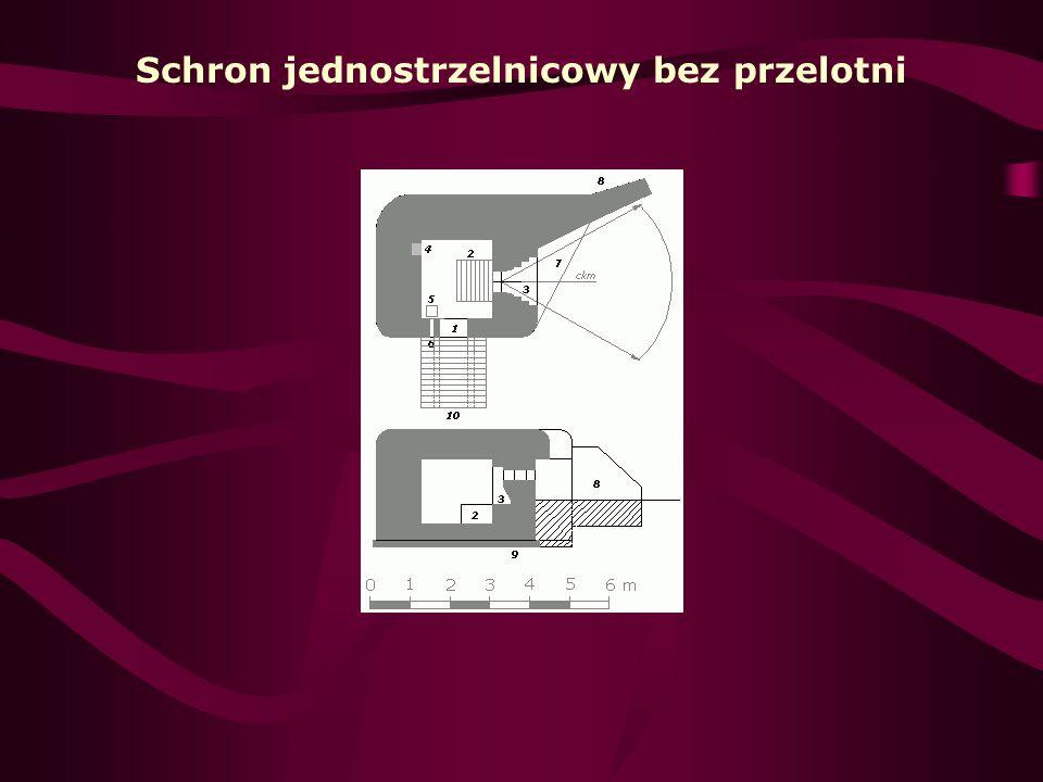 Przykładowy polski schron bojowy typu polowego