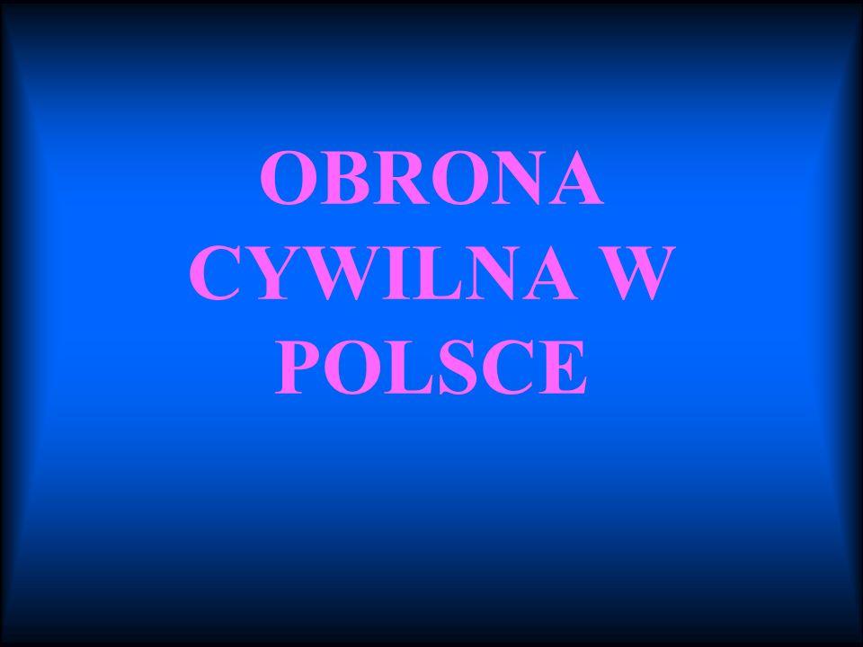 OBRONA CYWILNA W POLSCE