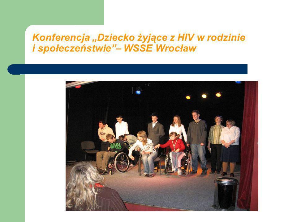 Konferencja Dziecko żyjące z HIV w rodzinie i społeczeństwie– WSSE Wrocław