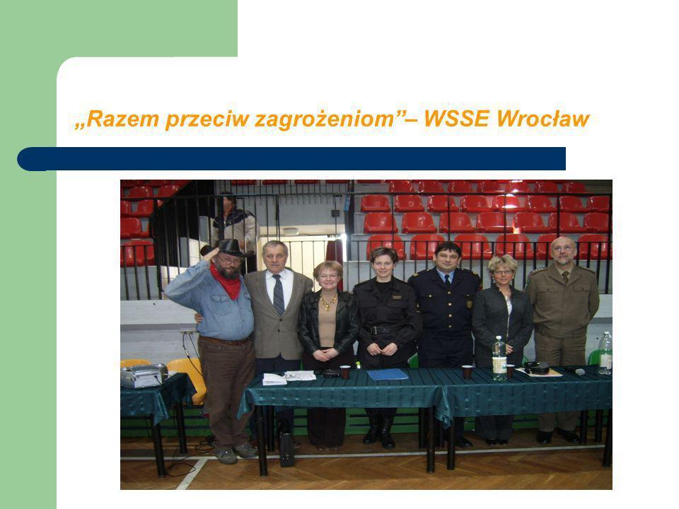 Razem przeciw zagrożeniom– WSSE Wrocław