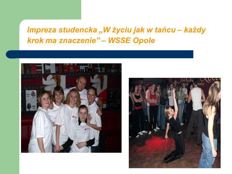 Impreza studencka W życiu jak w tańcu – każdy krok ma znaczenie – WSSE Opole