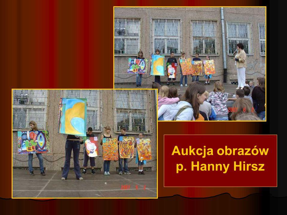 Aukcja obrazów p. Hanny Hirsz