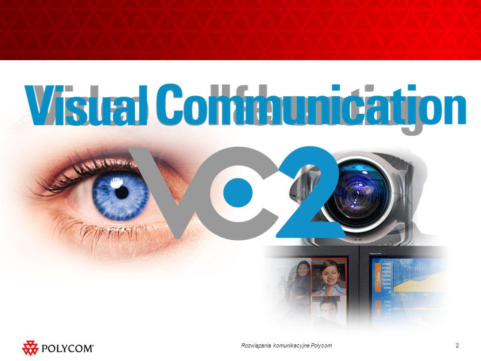 13Rozwiązania komunikacyjne Polycom Polycom Telepresence Experience (TPX ) Możliwość instalacji w typowej sali konferencyjnej Naturalnej wiekości osoby Ekrany plazmowe 60 System dla małych grup Dźwięk stereo Wielofunkcyjny stół konferencyjny Wbudowane monitory dla prezentacji Usługi VNOC