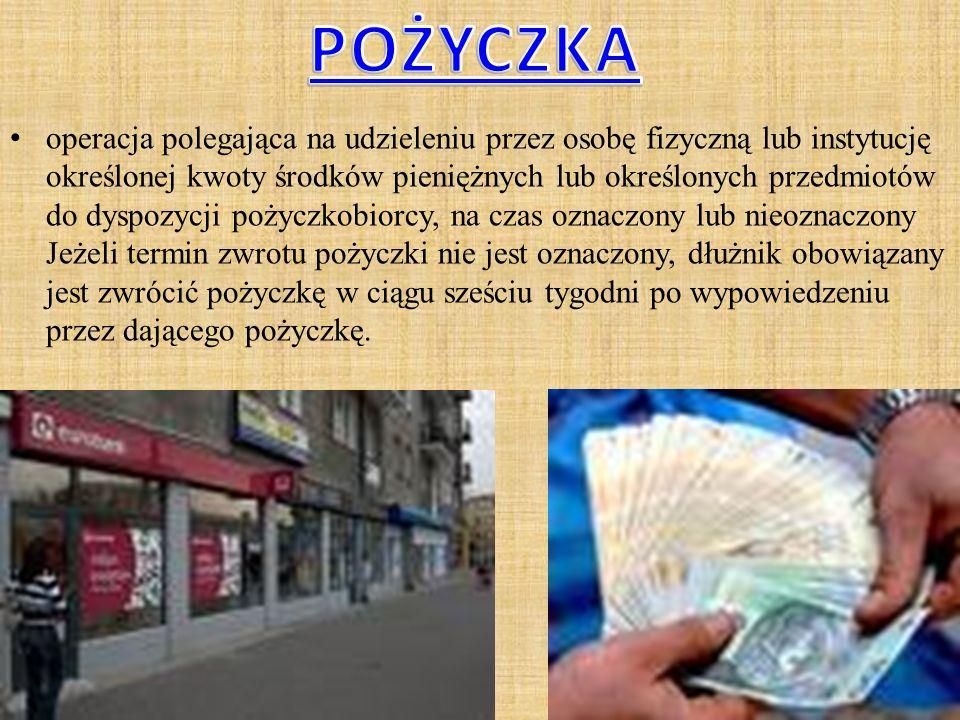 środki płacone przez bank za udostępniony mu kapitał lub należne bankowi z tytułu udostępnionego przez niego kapitału. Odsetki są głównym (choć nie je